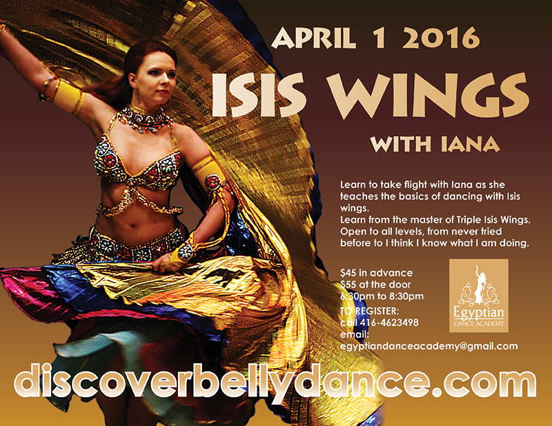 Isis Wings with Iana