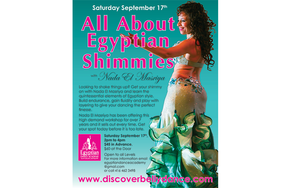 All About Egyptian Shimmies