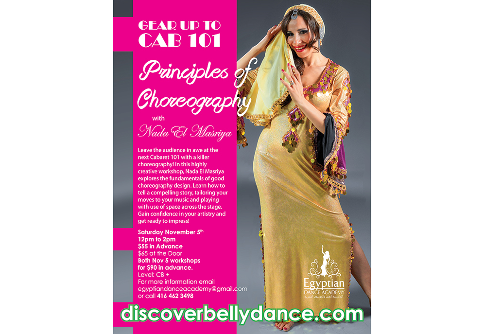 Principles of Choreography with Nada El Masriya