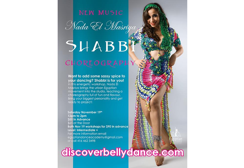 Nada El Masriya Shabbi Choreography