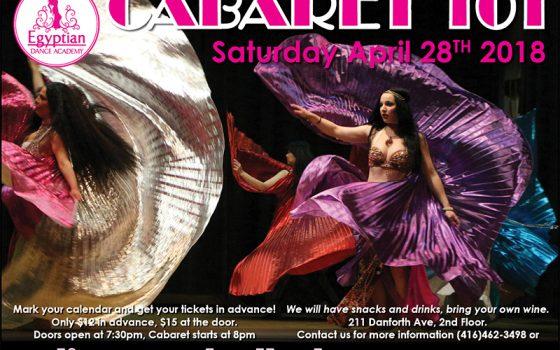 Cabaret 101 April