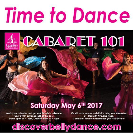 Cabaret 101 May 2017