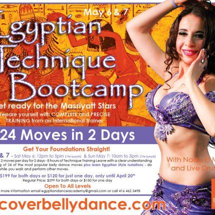 Egyptian Technique Bootcamp
